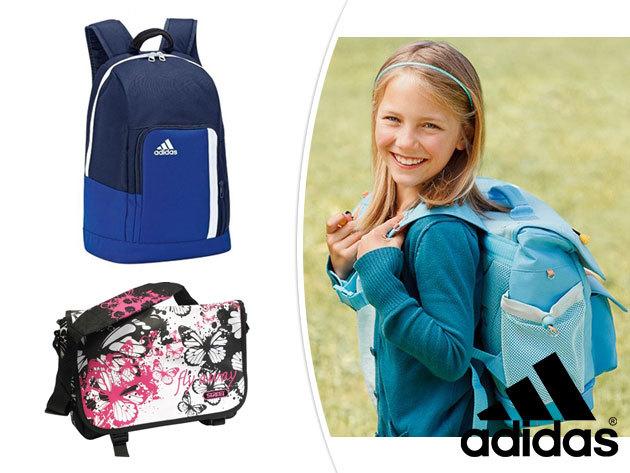 ADIDAS hátizsákok és divatos oldaltáskák iskolakezdésre