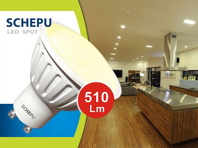 LED izzók E14-es 6W, E27-es 12W, GU10-es LED SPOT 6W - SHEPU LED: energiatakarékos, költséghatékony megoldás