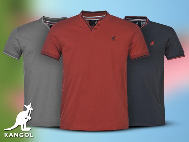 Kangol V-nyakú férfi póló divatos színekben fc1bf13dde