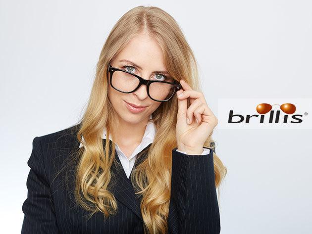 Multifokális BRILLIS 3D FreeForm komplett szemüveg - maximálisan személyre szabva