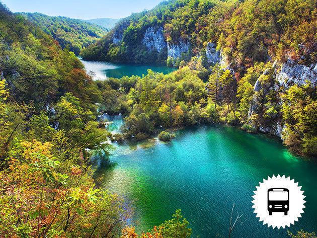 Plitvicei kirándulásszeptemberben - buszos utazás a gyönyörű horvátországi tórendszerhez szeptemberben, szombaton