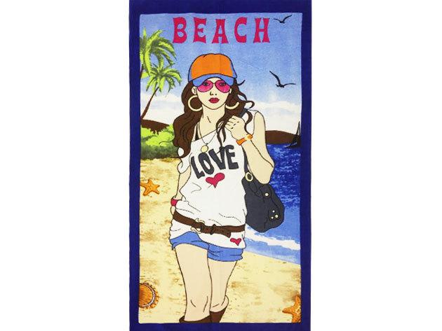 Beach strandtörölköző