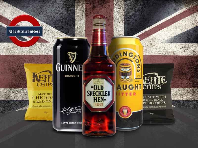 Kóstold meg Nagy-Britannia legfinomabb prémium söreit és harapj bele a Kettle kézzel sütött, ropogós chipseibe!