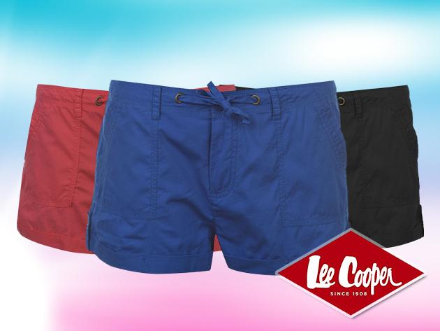 Lee Cooper női rövidnadrág divatos színekben, S-XXL méretig, 100% pamut