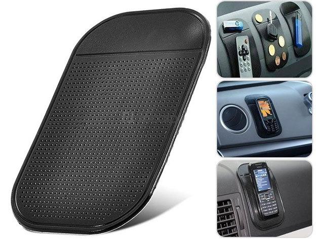 Csúszásmentes telefontartó és Nano-Pad: univerzális tároló, mely jól tapad a műszerfalra is - megoldódik autódban a rend kérdése!