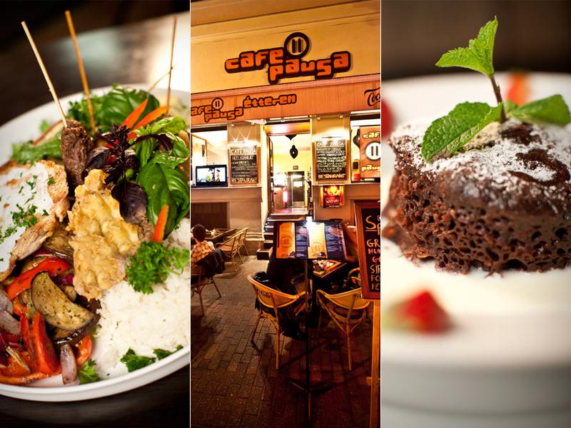Ebédelj a minőség konyháján a belvárosi Café Pausában és fogyassz à la carte 10.000 Ft értékben 5.000 Ft-ért a Liszt Ferenc téren + legyél vendégünk 2 isteni desszertre!