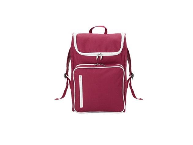 SLIMMY hátizsák 15 inch-es laptoptartó rekesszel - párnázott hátrész és vállpántok (27x12x42cm) - LILA / mo8577-02