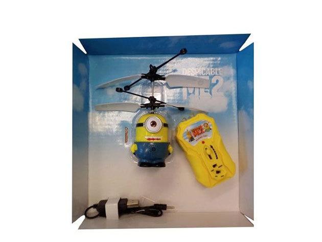 Minion-os játék helikopter