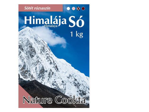 Himalája só - 1 kg