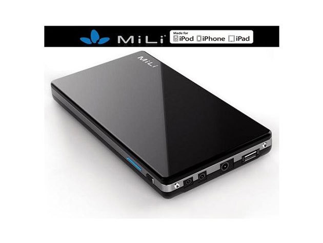 MiLi Power Queen (HB-D80) hordozható külső akkumulátor (8000mAh) Fekete
