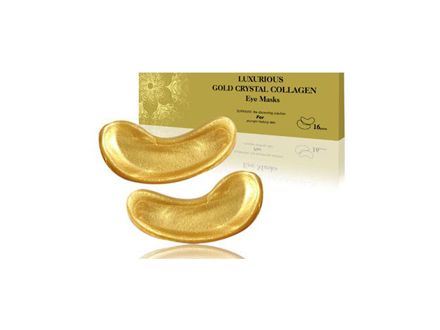 caf8c649d6ed Luxus 24 K arany-bio-kollagén szemmaszk