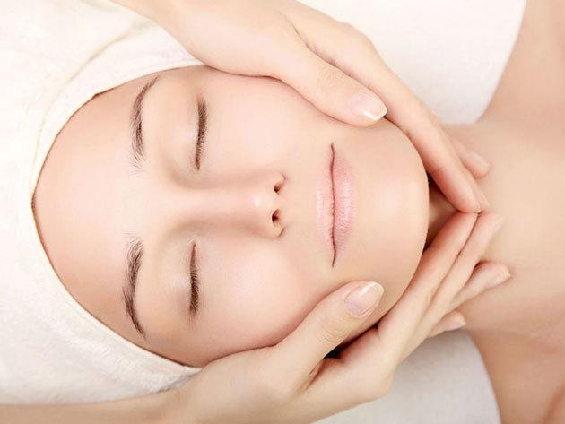 Arcfiatalítás: Ránctalanító vákuum kezelés + Kollagénes bőrfeszesítő arcmasszázs + Lávaköves arcvasalás