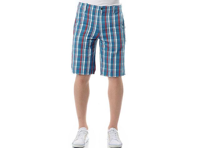 Levi's férfi short kék/fehér/piros kockás (levis_553280019) (38)