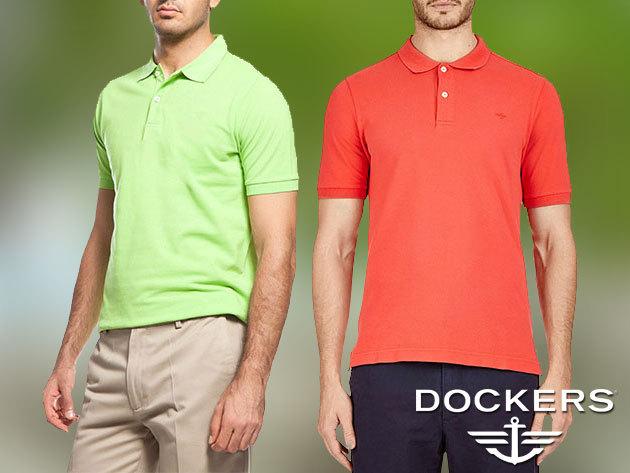 Dockers rövidnadrágok, piké pólók és pulóverek férfiaknak - sportos elegancia