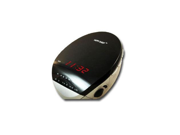 Digitális rádiós ébresztőóra, érintéssel vezérelhető ébresztő funkcióval, LED kijelzővel