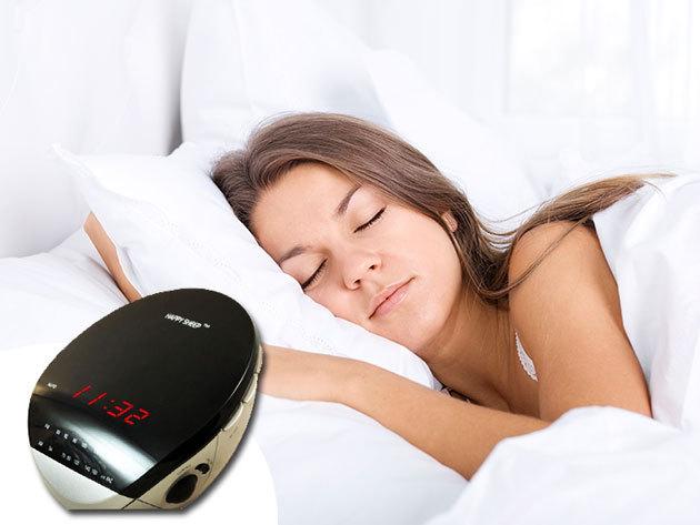 Digitális rádiós ébresztőóra, érintéssel vezérelhető ébresztő funkcióval, LED kijelzővel - hogy el ne késs a suliból