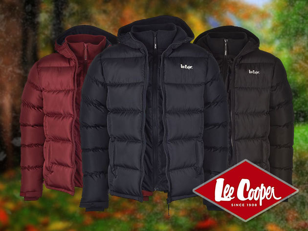 Lee Cooper 2Zip férfi dzseki 9601250c22