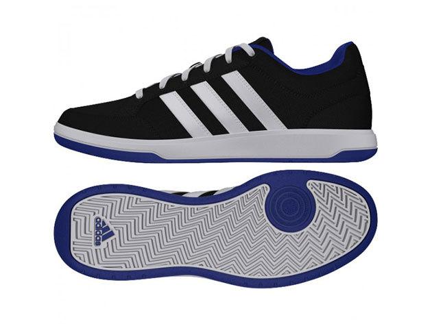 Adidas Oracle VI STR Férfi Cipő (Fekete-Fehér-Lila) B40192 (47 1/3, D12)
