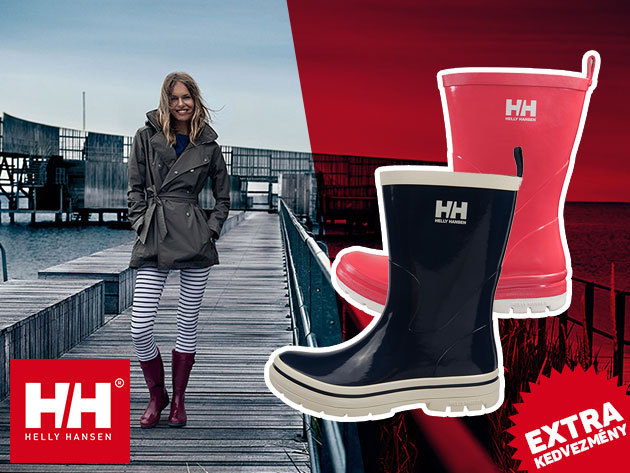 Helly Hansen W MIDSUND és W VEIERLAND női gumicsizma az esős napokra - kényelmes, strapabíró, divatos