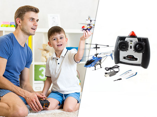 Távirányítású helikopter az igazi légi kalandokhoz - Nem csak gyerekeknek