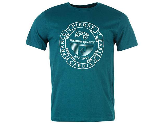 Pierre Cardin férfi póló zöld színben (59961990_SM) - választható méret: XS-4XL