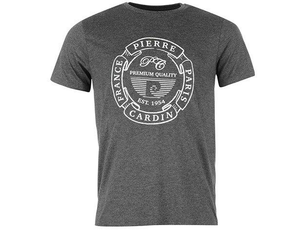 Pierre Cardin férfi póló szürke színben (59961926_SM) - választható méret: XS-4XL