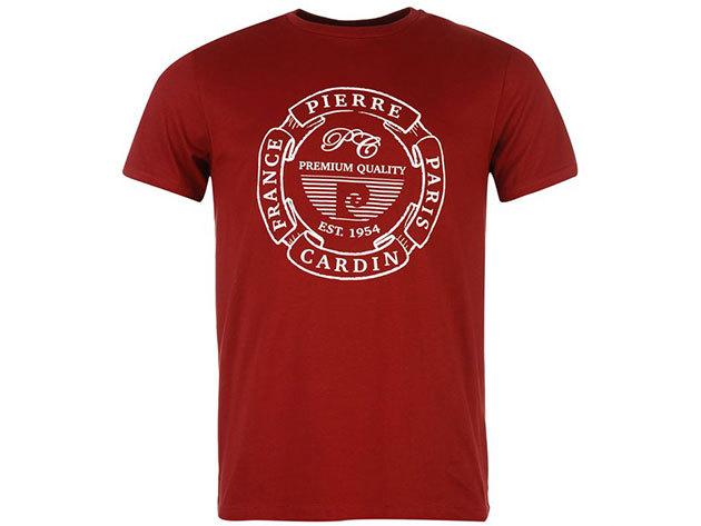 Pierre Cardin férfi póló bordó színben (59961909_SM) - választható méret: XS-4XL
