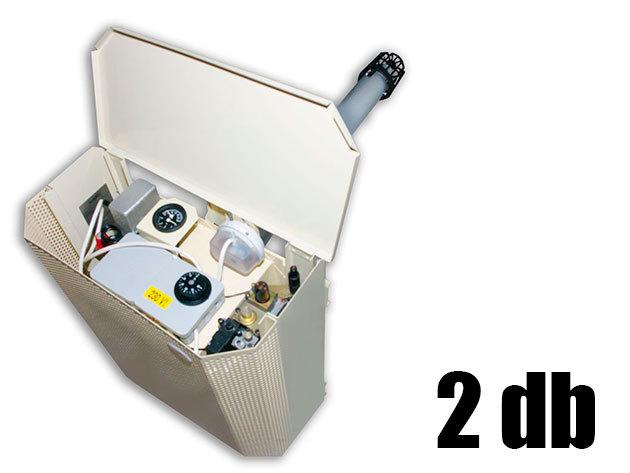 Konvektor átvizsgálása, tisztítása és felkészítése a fűtési szezonra (2 db)