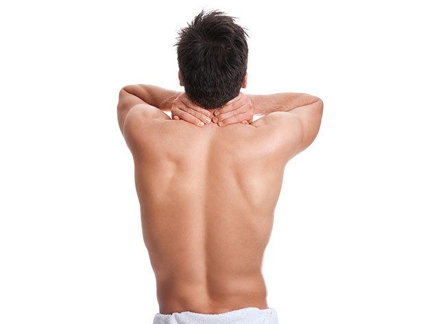 5+1 alkalmas hát + váll  SHR tartós szőrtelenítése férfiaknak