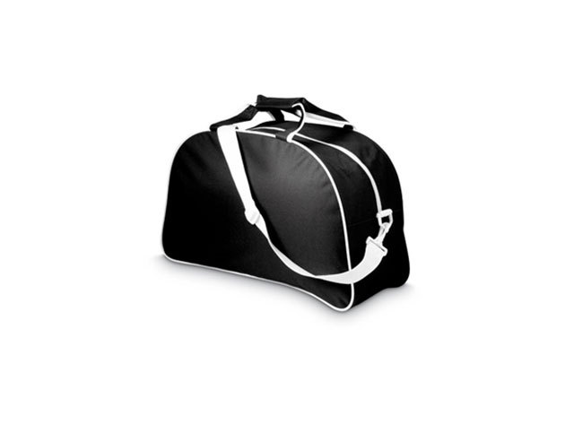 Sporttáska levehető vállpánttal fekete színben / mo7848-03