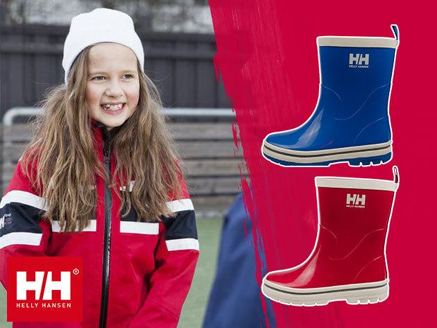 Helly Hansen JK MIDSUND gyerek gumicsizma az esős napokra (25-36 méret) - divatos, strapabíró és kényelmes