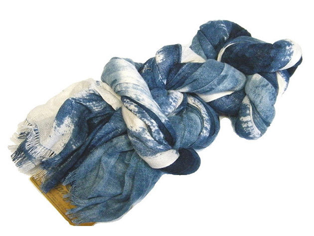 Wrangler férfi sál BLEEDING SCARF 110X1 DRESS BLUE (W0706UW20)