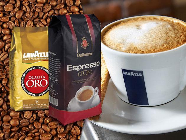 Dallmayr és Lavazza szemes kávék ínyenceknek / 0,5 és 1 kg-os kiszerelésben