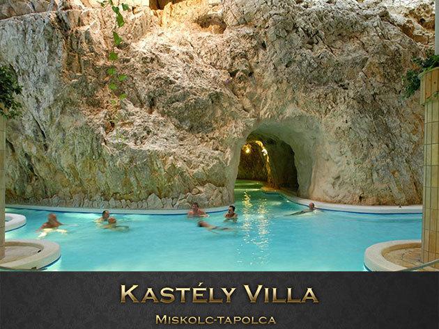 Miskolctapolca, Kastély Villa - 3 nap/2éj szállás 2 főre, reggelis vagy félpanziós elátással és 2db barlangfürdő belépővel