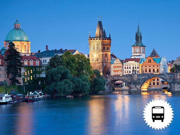 PRÁGA: non-stop buszos utazás városnézéssel Csehország fővárosába / október 24-én és november 7-én