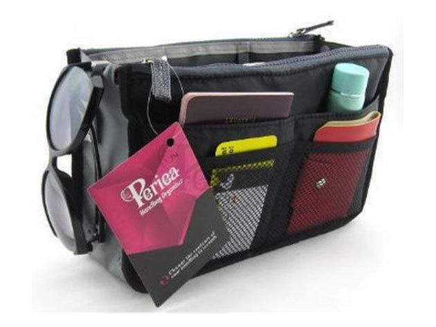 Minőségi, praktikus táskarendező - FEKETE