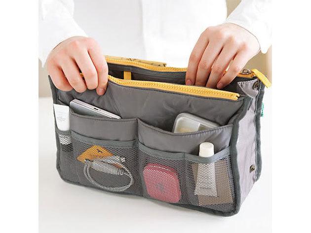 Minőségi, praktikus táskarendező - SZÜRKE