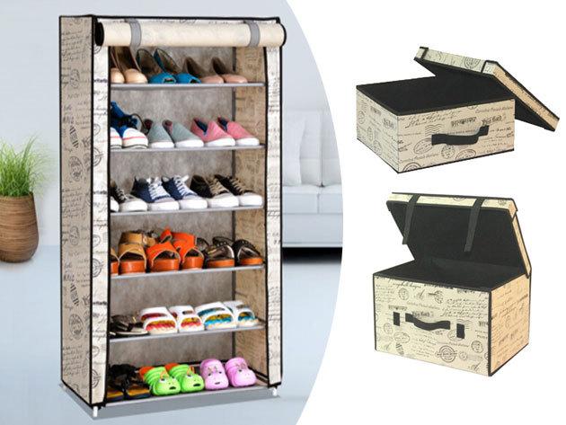 Cipő- és ruhatárolók, fedeles dobozok prémium minőségben - praktikus kiegészítők a gardróbhoz