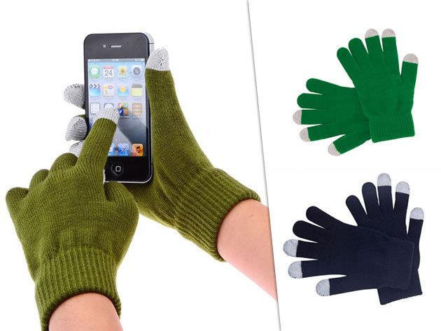 Kapacitív kesztyű több színben - 3 ujján speciális borítással, hogy könnyedén kezelhesd okos készülékeidet