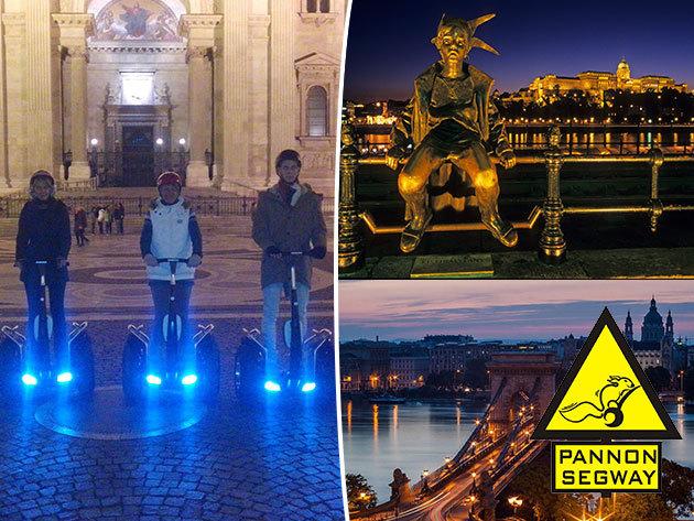 Segway akció / fő - fedezd fel a Duna korzót egy 1,5 órás túrán, akár a főváros esti fényeiben!