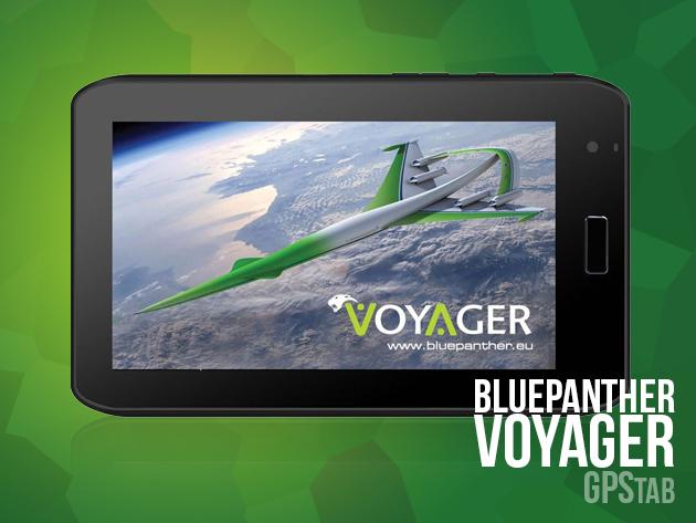 """BluePanther Android 4.0 tablet (GPS, wifi, HDMI) 1 év garanciával -  multifunkciós készülék 7""""-os kijelzővel az unalmas percek ellen"""