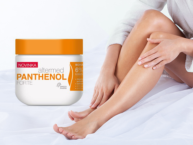 Panthenol Forte testvaj (300 ml) - nyugtatja a kiszáradt bőrt, hidratál, regenerál, véd