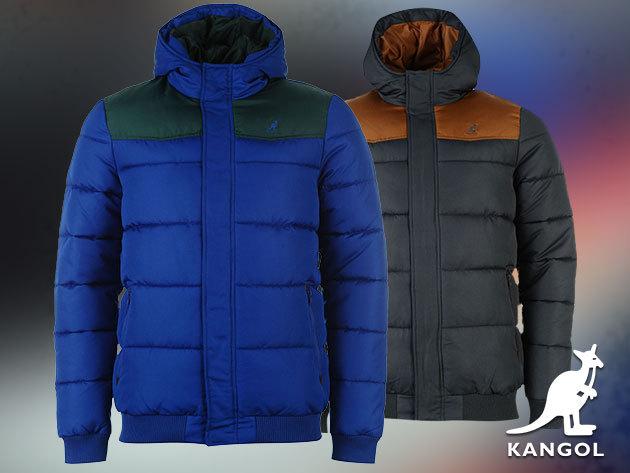 Kangol férfi dzseki / S-XXL méretben, szürke és kék színben
