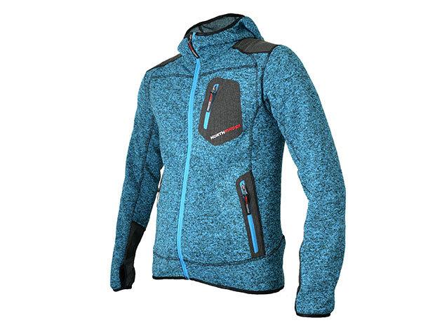 4023bd401e NorthFinder Férfi Kék pulóver MALIK (MI-3106OR 281blue) - M