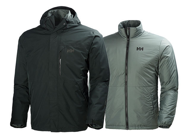Helly Hansen SQUAMISH CIS JACKET STORMY GREEN L (62368_358-L)