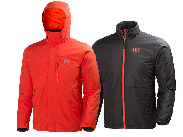 Helly Hansen SQUAMISH CIS JACKET RUSTY FIRE M (62368_816-M)