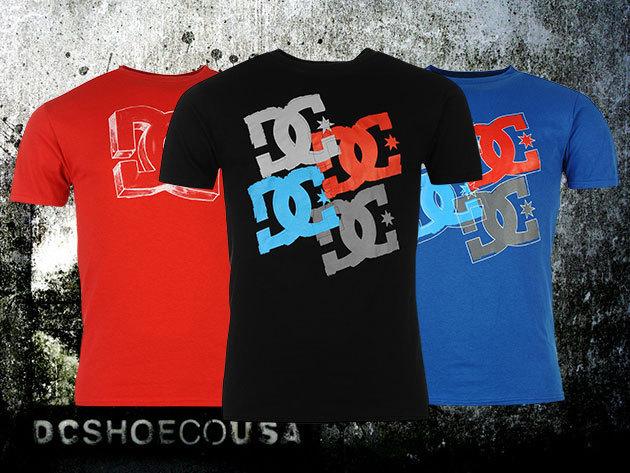 7dd3e13405 DC férfi póló divatos színekben, szezonális grafikával, 100% pamut  anyagból, S-XL méretben