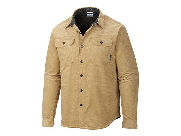 Bélelt féfi ing általános utcai viseletre / AM8197l_243 Windward III Overshirt / XL méret