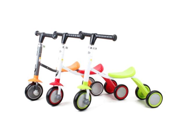 Tricikli és roller 2 az 1-ben játék (zöld) - AZONNAL ÁTVEHETŐ