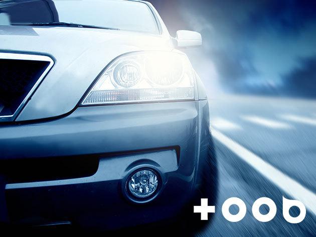 Autókozmetika - fényszóró polírozás prémium külső mosással a TOOB&VELOX gumiszerviznél (IX. ker.) + gumicsere féláron